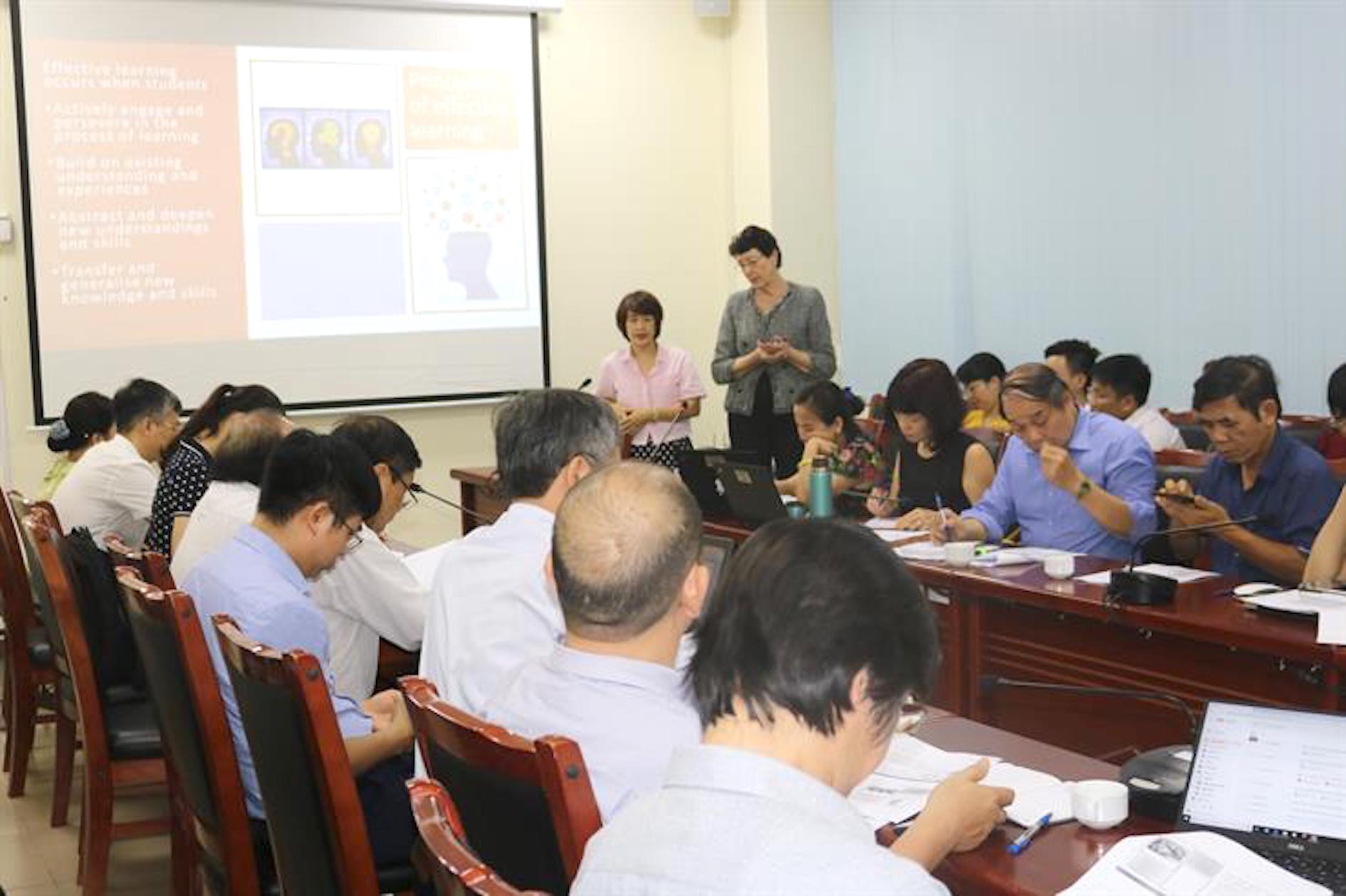 Hội thảo - Tập huấn thiết kế modul E-learning