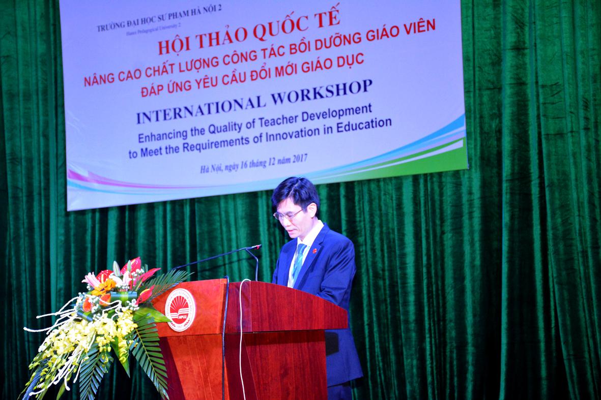 Hội thảo quốc tế nâng cao chất lượng bồi dưỡng giáo viên đáp ứng yêu cầu đổi mới giáo dục