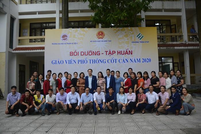 Trường ĐHSP Hà Nội 2 bồi dưỡng 1382 giáo viên trung học cơ sở cốt cán