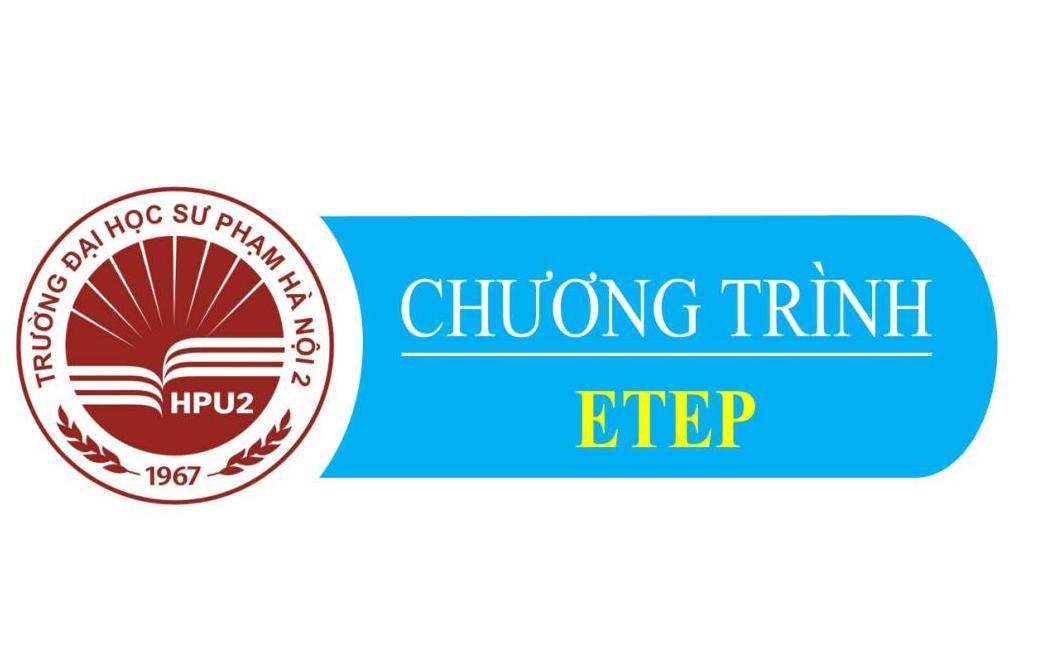 Danh sách ban quản lý chương trình ETEP của trường ĐHSP Hà Nội 2