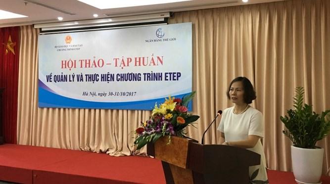 Danh sách các trường ĐH tham gia Chương trình ETEP
